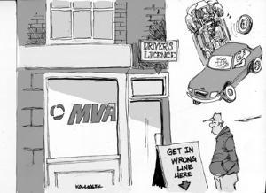 Kollinger Cartoon