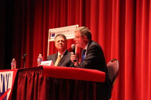 Congressional candidates speak at forum