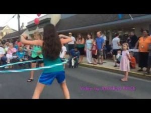 Centreville Block Party Hula Hoop Contest
