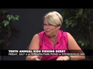 Take the Kids Fishing in Stevensville on July 4