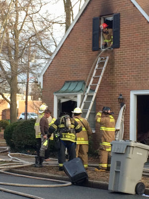 Fire guts public defender's office in Denton