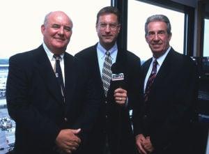 NASCAR - Benny Parsons, Bob Jenkins and Ned Jarrett