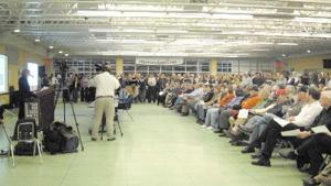 Citizens voice pros and cons over proposed GSA training facility at meeting