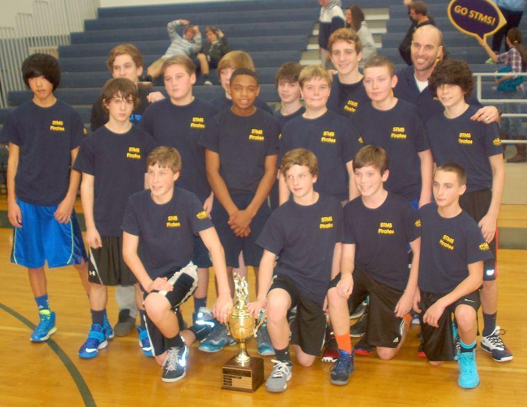 Stevensville Middle Teams Win Basketball Championships