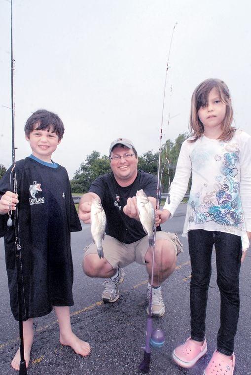 Bill burton kids fishing derby now family affair for Bill burton fishing pier state park