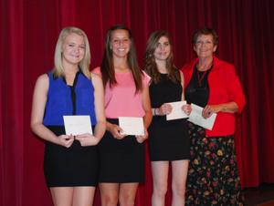 Club awards scholarships