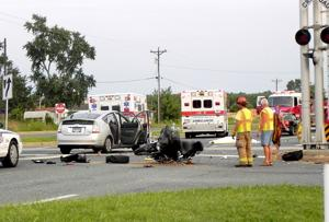 One killed in motorcycle crash