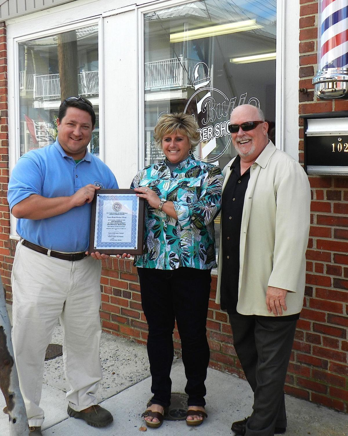 Town Buzz continues barber shop tradition Queen Annes County ...