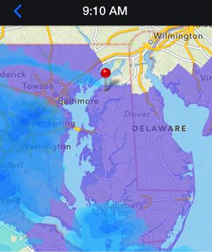 Snow Advisory for Kent, Eastern Shore