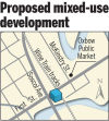 Proposed mixed-use development