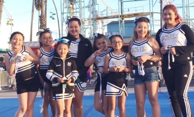 Second for american canyon youth football and cheer in santa cruz