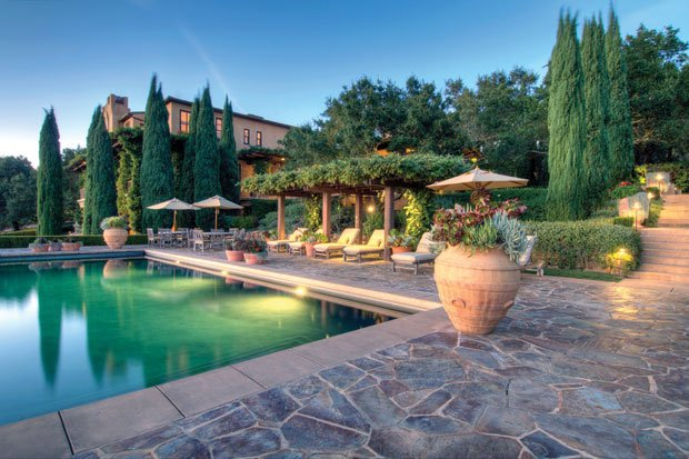 Gallery napa valley estates for sale for Tuscan california
