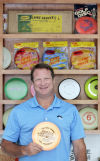 Marvin Paul and His Flying Disc Collection