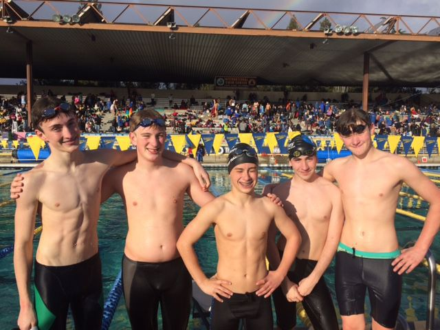 Waves Swimmers Bring Their Best On Big Weekend St Helena Sports