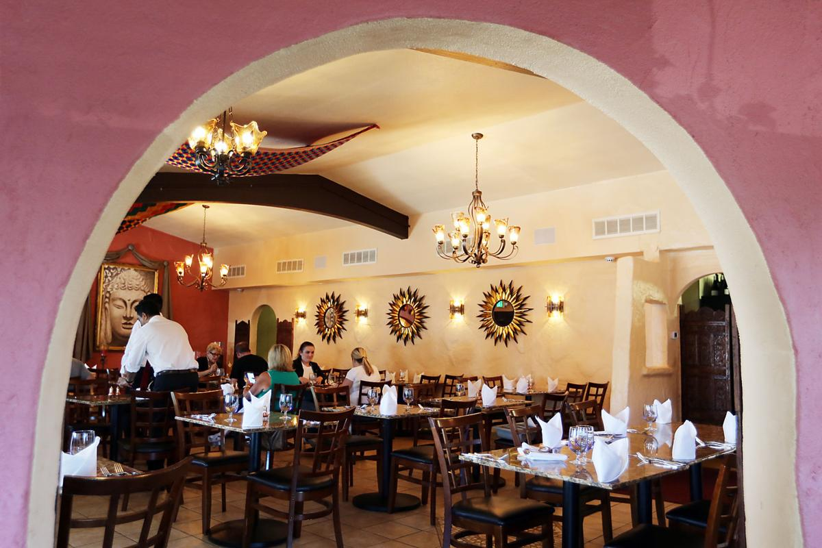 Aroma restaurant where classic indian fare is served with for Aroma indian cuisine napa