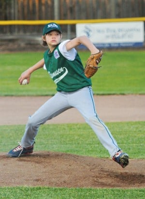 13-year-old tosses perfect game