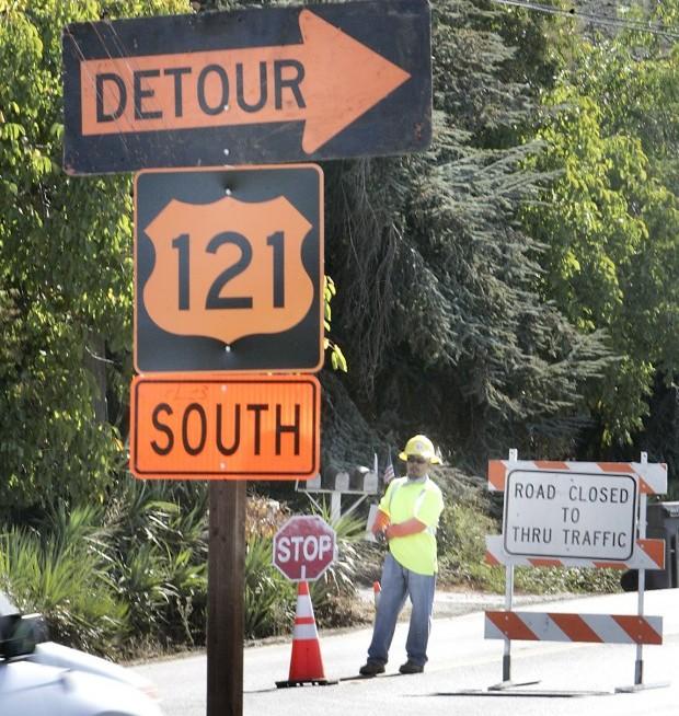 Silverado Trail Detour Cuts Off Traffic To Local Businesses