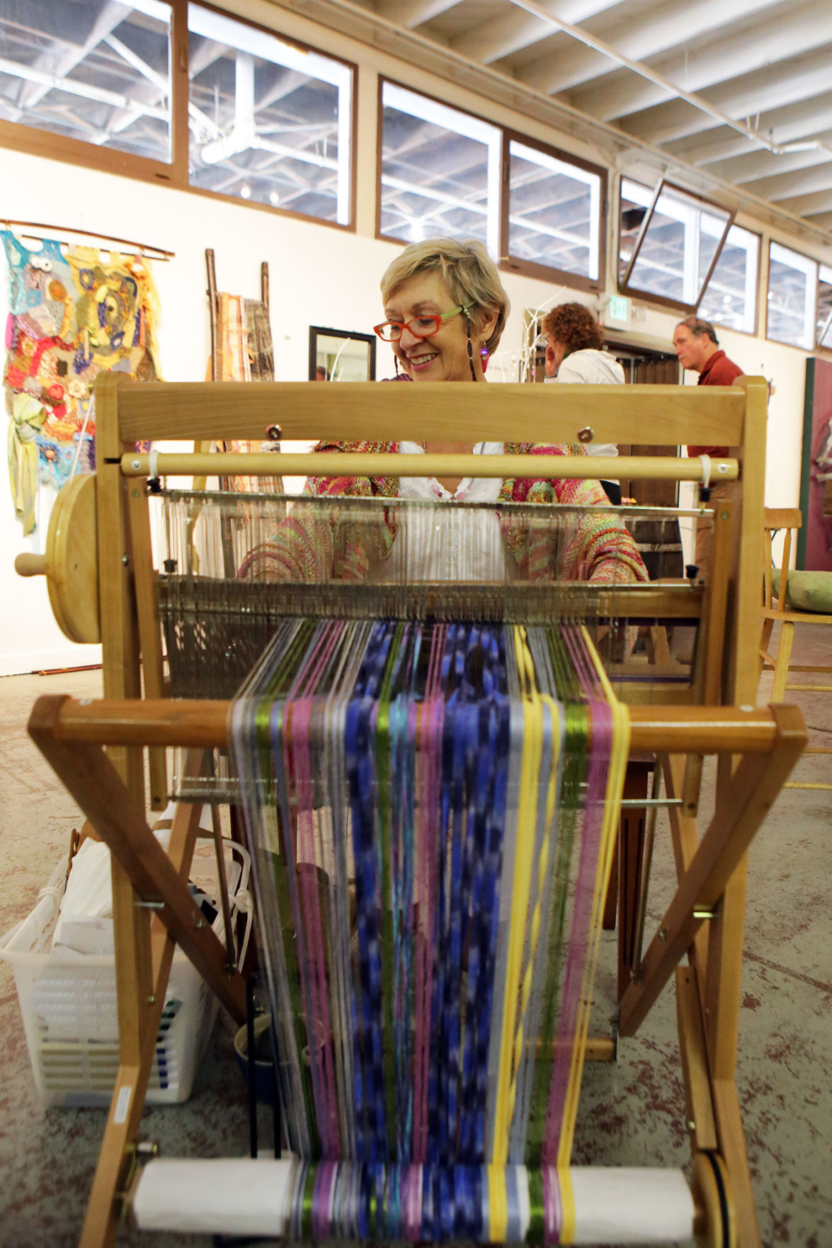 At new calistoga festival the arts are works in progress for Howard county craft fair