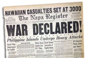 World War II Napa: Blackouts, defense jobs and growth