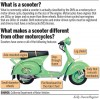 What is a scooter?