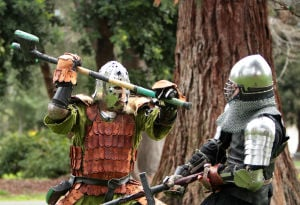 Past is present for North Bay's medieval re-creators
