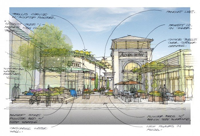 Planning Commission Oks Renovation At Downtown Mall