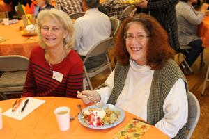 Photos: Junior Women's Thanksgiving luncheon