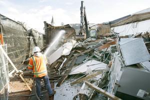 Bounty Hunter reveals plans for new Napa home; site demolition begins