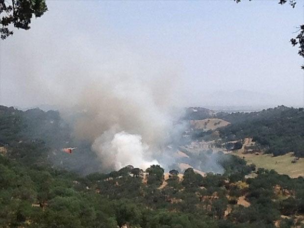 Updated: Vegetation fire burns 9 acres in Gordon Valley
