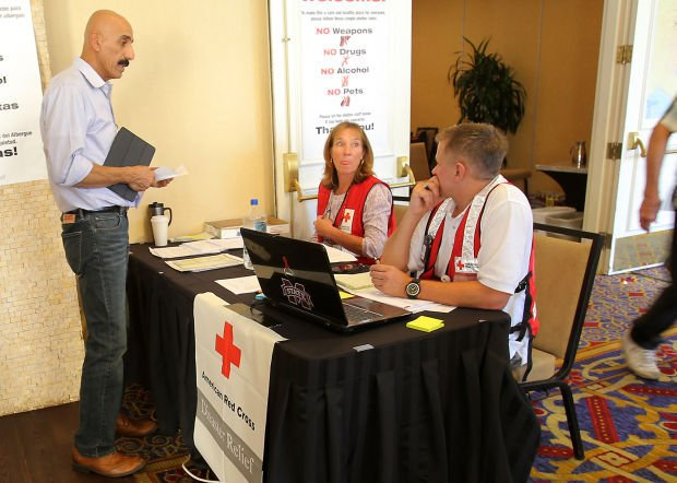 Red cross center helps quake casualties local news for Furniture 4 less napa