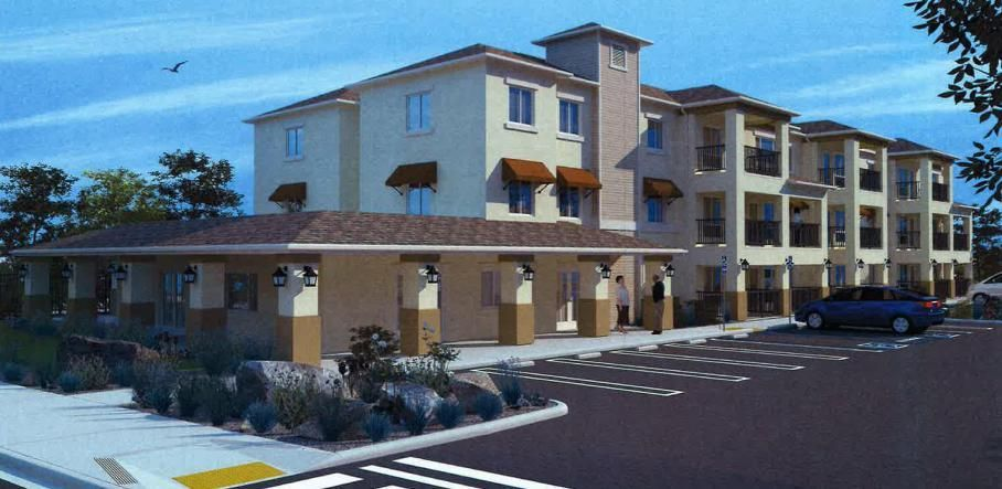 Calistoga senior apartment design approved by planners for Washington state approved house plans