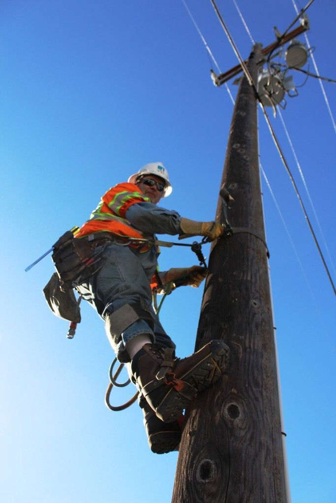 A Lineman S Life Now Up In Movie Lights Local News
