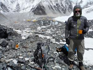 Avalanche aborts Napa man's Everest dream