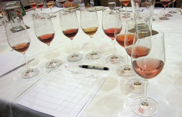 The state of rosé: An insider's view of a wine competition