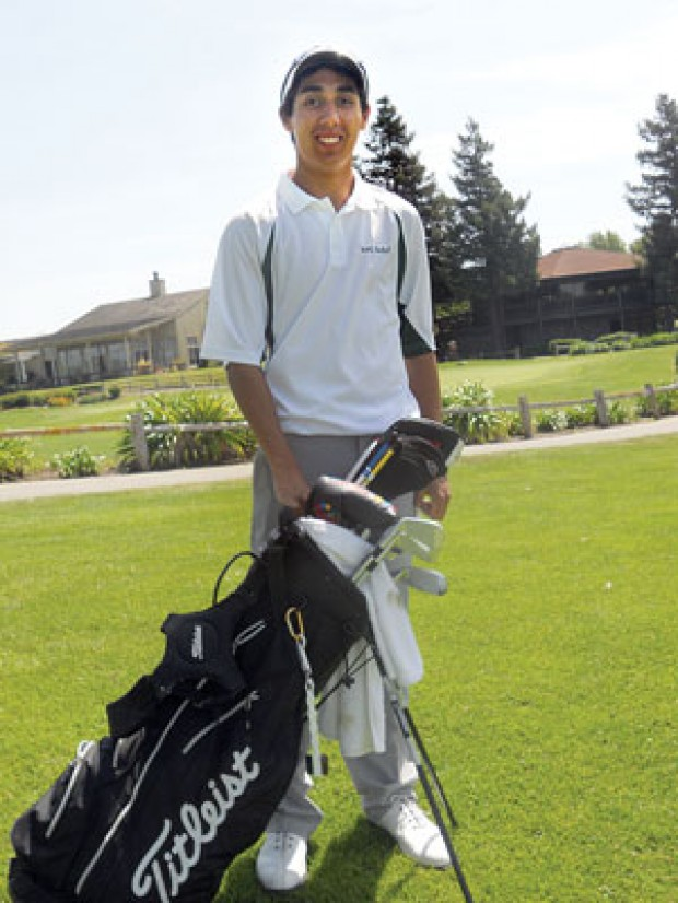 Beierle turns golf game around for Aroma indian cuisine napa