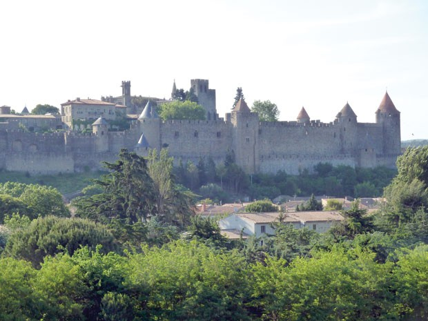 Carcassone bicycle tour