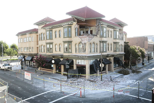 Napa quake setback or opportunity for downtown - Downtown at the gardens movie times ...