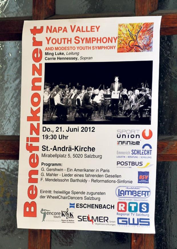 Napa Youth Symphony tours Europe