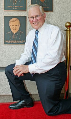 Dr. Carl Ermshar added to GAMC's Wall of Honor