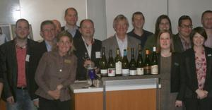 Tasting dry Furmint wines from Hungary
