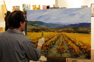 At new Calistoga festival, the arts are works in progress