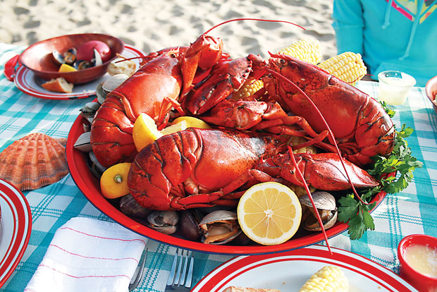 A new england clambake napa valley style food for A new napa cuisine