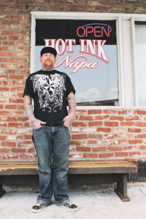 Tattoo shop. Image via Wikipedia. Have you seen what a tattoo machine