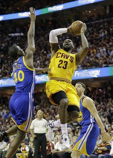 The Latest: Cavs beat Warriors 96-91, take 2-1 series lead ...