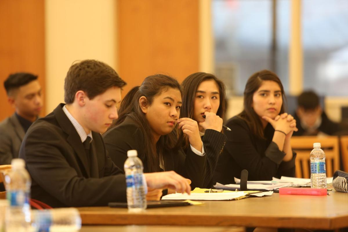 justin siena mock trial team sweeps to state finals grapevine members of the justin siena mock trial team