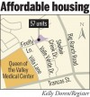 Napa Creekside Apartments map