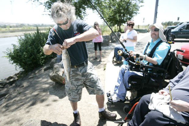 Wheelchair anglers find few spots to safely fish for Napa river fishing