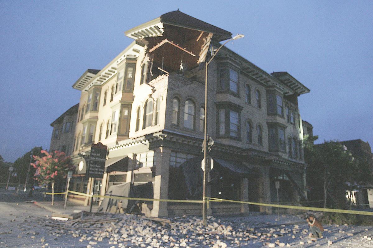 earthquake damage estimates remain work in progress local news napa earthquake