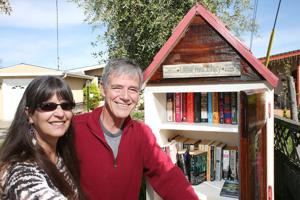 Little Free Libraries popping up all over town
