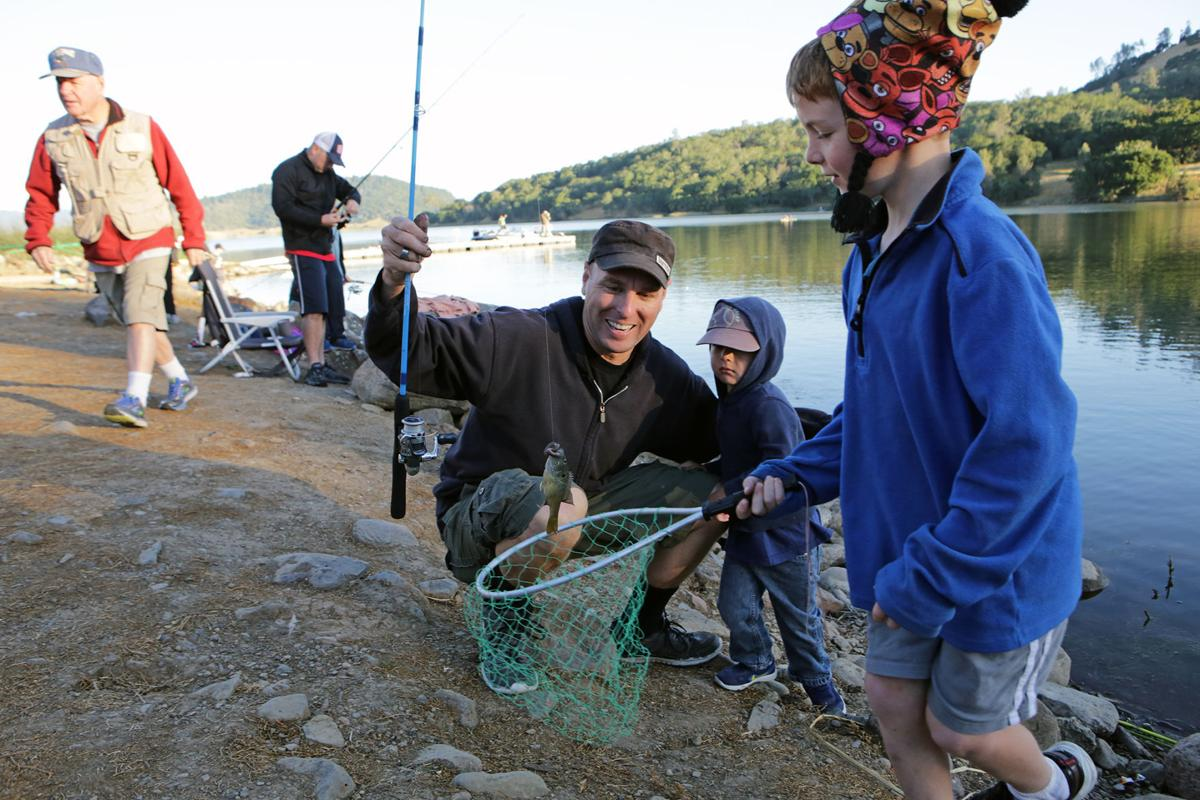 Long running fishing derby brings napa youth a taste of for Lake hennessey fishing